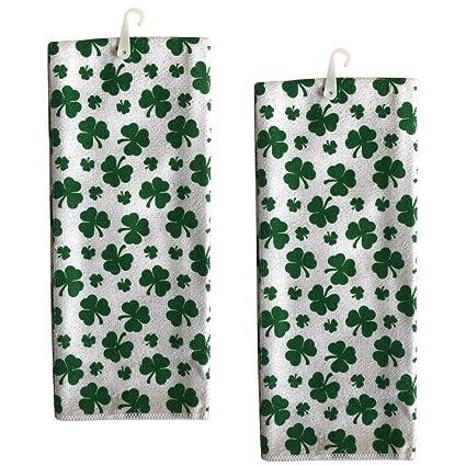 Amazon Com St Patricks Day Shamrock Kitchen Towels Set Of 2 Irish