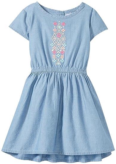 Carters Vestido De Chamarra Tela Para Niñas Mezclilla 2
