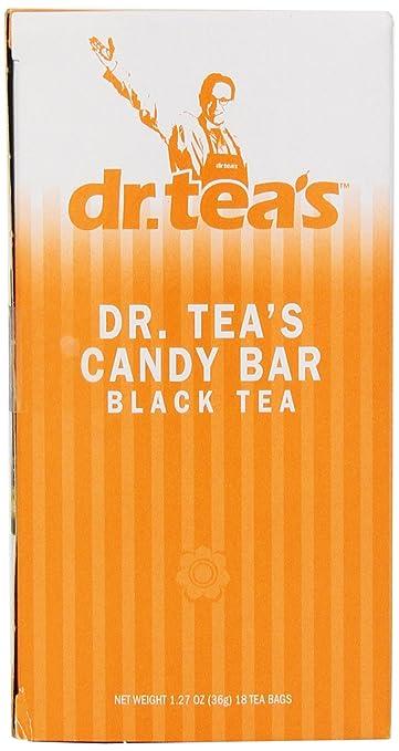 Dr. Teas Candy Bar para el té negro, 18 Count bolsas de té ...