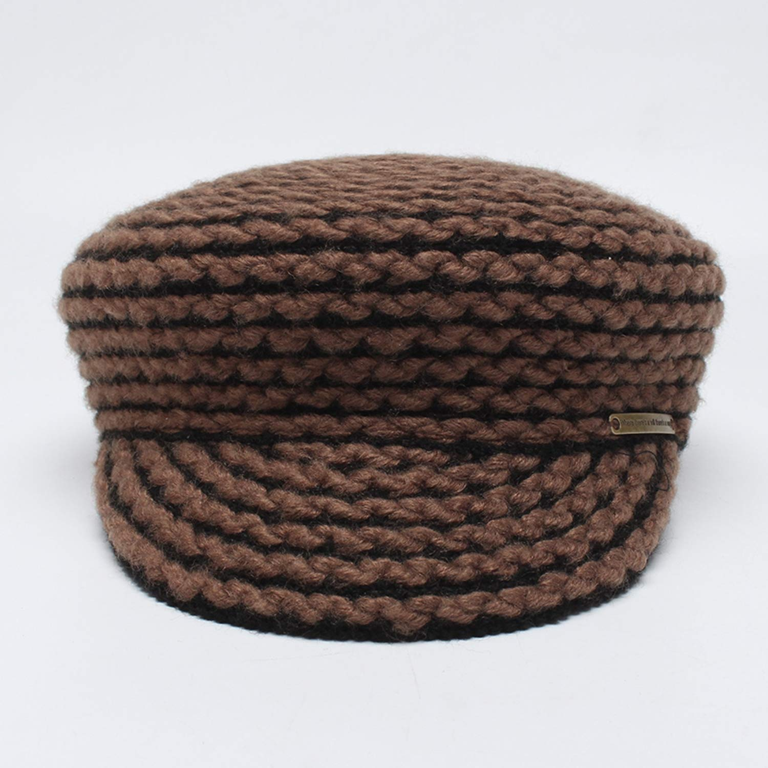 ANDERDM Military Hat for Women 2017 Autumn Winter Woolen Military Caps Ladies Casual Hats Female Casquette