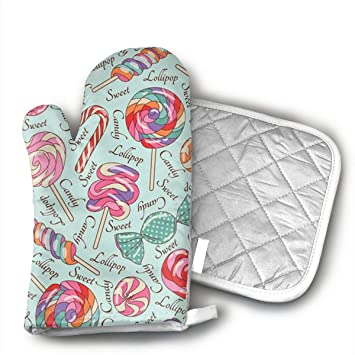Amazon.com: YHDGFO Pot Holders and Oven Mitts / 1 Hot Pads ...