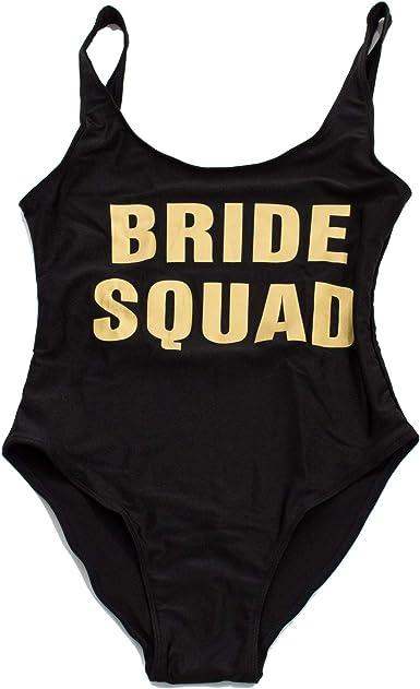 Bride Shirt Bride Honeymoon Bride to Be Swimsuit Bride Swimwear Team Bride Missy And Plus Size One Piece Swim Suit Bachelorette Parties Bride Bathing Suit