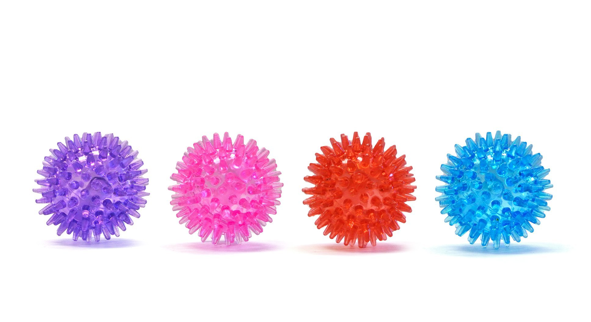 Gnawsome Small Squeaker Ball Dog Toy, Small 2.5'', Colors will vary