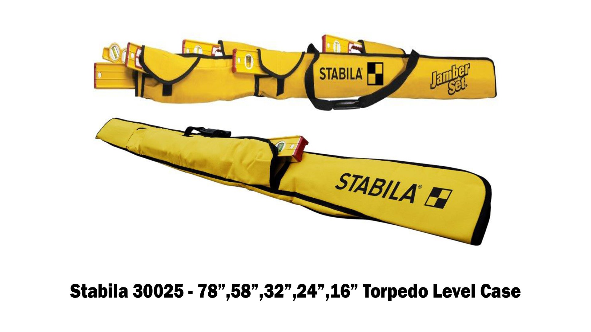 Stabila 196 Level Set Kit - 78''/58''/32''/24''/16'' Torpedo and Case by Stabila (Image #8)