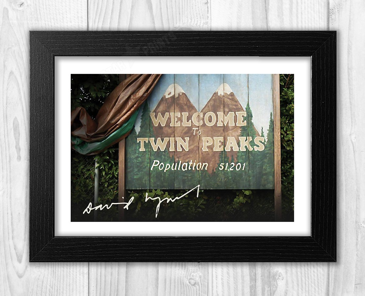 Engravia Digital Twin Peaks Poster with Reproduction ...