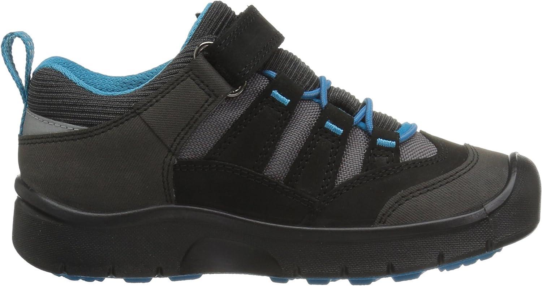/& Wanderhalbschuhe KEEN Jungen Black//Blue Trekking