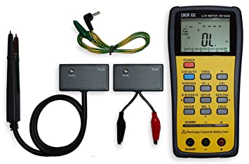 acompatible new de 5000 handheld lcr meter with tl 21 tl 22 tl 23 rh amazon co uk
