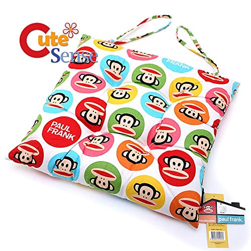 Paul Frank Seat Chair Cushion with Tie Strap 14 x14
