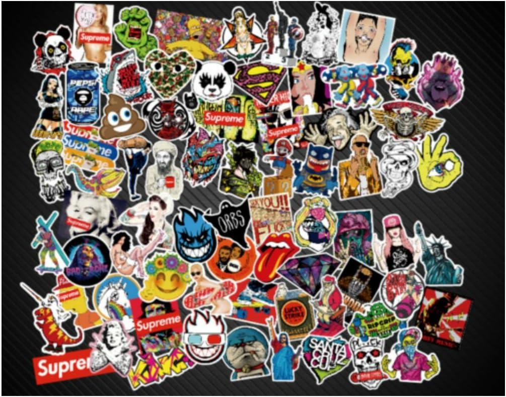 50Pcs Football Club Vinyl Skateboard Laptop Stickers bomb Luggage Decal Lot Cool
