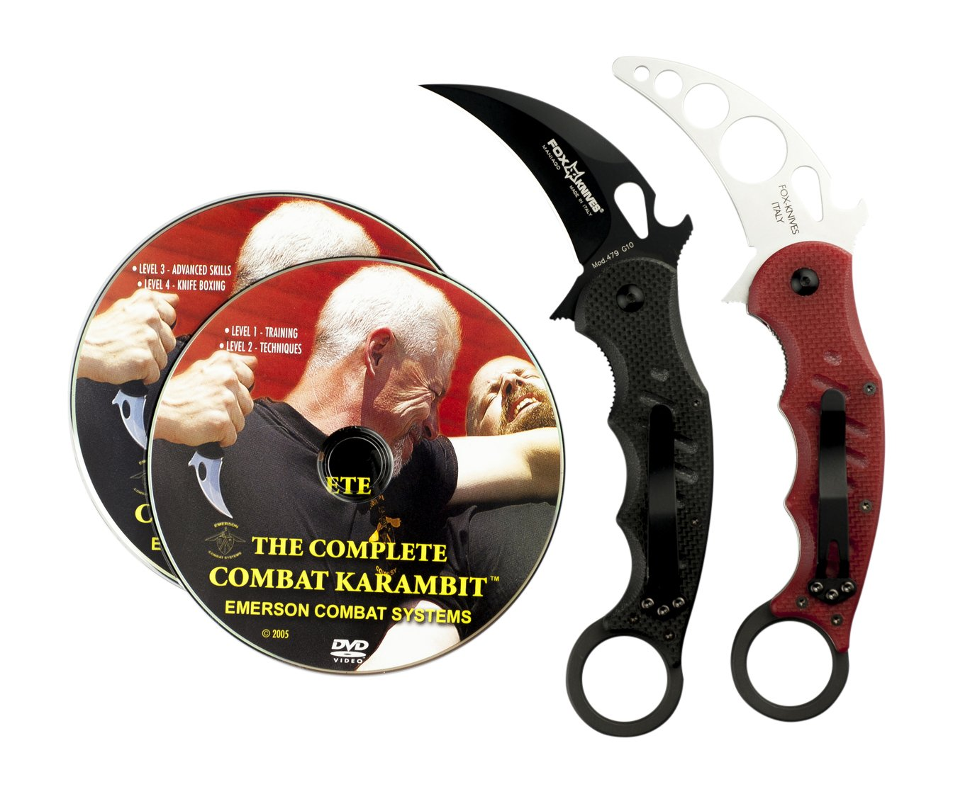 Fox 479 Karambit & DVD Training Package - 3 in 1