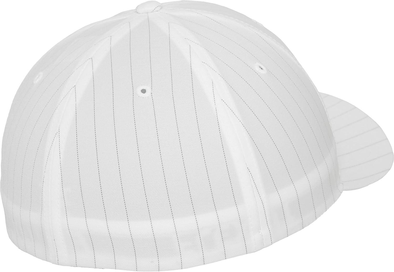 9ad0b6581fd FlexFit Pinstripe Cap - 6195P at Amazon Men s Clothing store  Baseball Caps