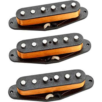 Amazon.com: Seymour Duncan California \'50s Strat Pickup Set ...