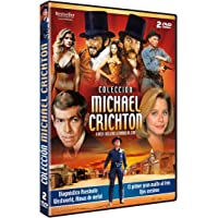 Colección Michael Crichton: (Diagnóstico asesinato / Westworld, Almas de metal / El primer gran asalto al tren / Ojos asesinos)