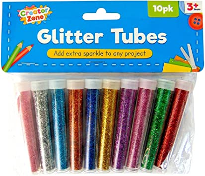 Tubs Kids Craft Glitter Pots 1 pack of 8