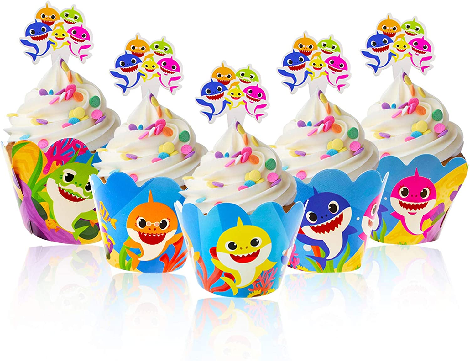 Party Deco Complete Set Baby Party Girl Boy Party Tableware 48 pieces