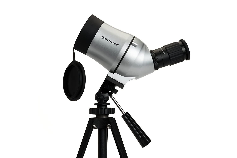 Celestron c mini mak spektiv mit stativ und amazon kamera