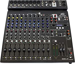 Peavey PV 14 BT 14 Channel Compact Mixer with Bluetooth