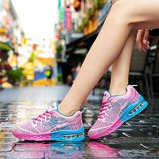 YAYADI Filles Chaussures De Sport Chaussures De Course Coussin d'air pour Les Femmes Mesdames Les Chaussures De Sport Chaussures Fitness Jogging Respirant Léger