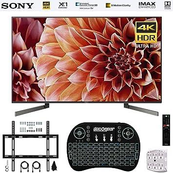 Sony XBR75X900F Smart LED TV de 75 Pulgadas 4K Ultra HD Modelo 2018 + Teclado inalámbrico + Kit de Montaje en Pared: Amazon.es: Electrónica