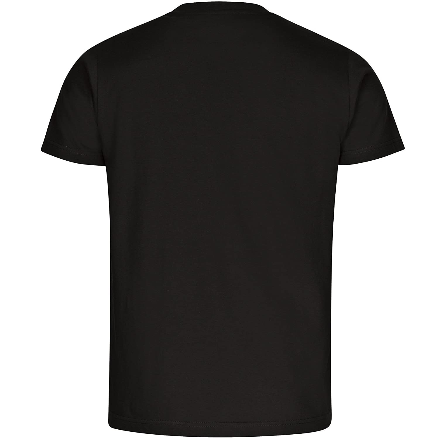Fin Perfect Men Black T-Shirt Size S to 5XL