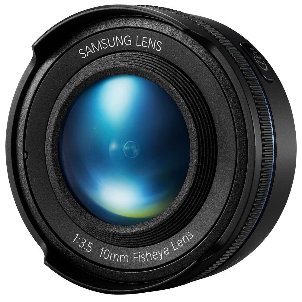 Samsung NX 10mm Fish Eye Camera Lens (Black) by Samsung (Image #3)