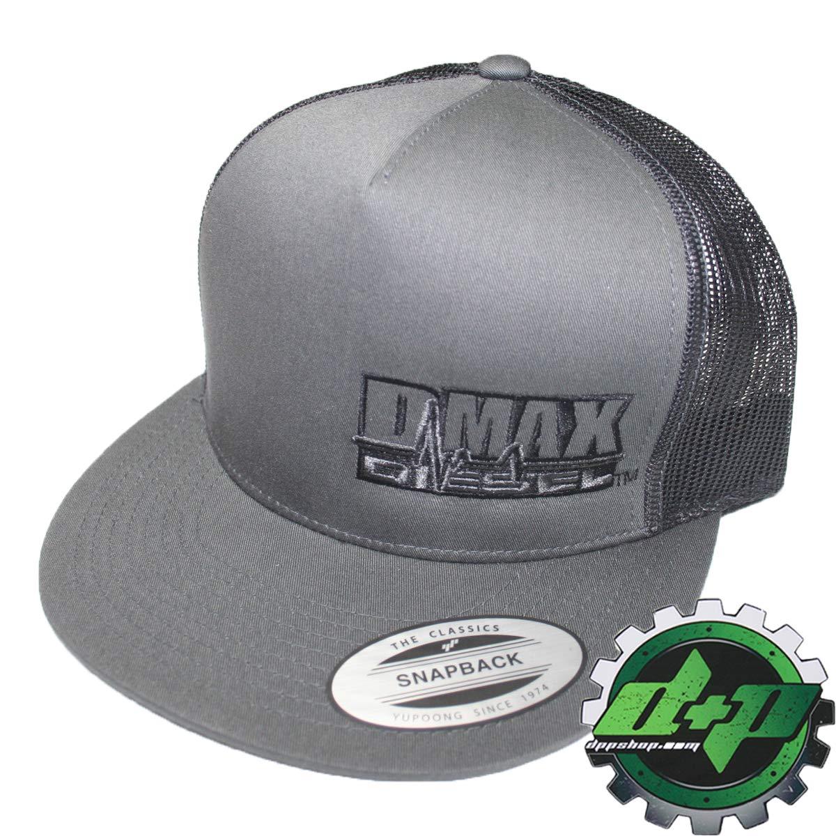 Amazon Com Dmax Diesel Flat Bill Snap Back Trucker Cap Truck Hat