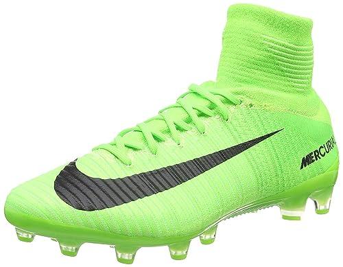 Scarpe da calcio Nike Mercurial Superfly V FG elettriche verdi   verdi  4c90ea