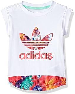 005fd9264be6 Amazon.com  adidas Originals Girls Originals Graphic Superstar ...