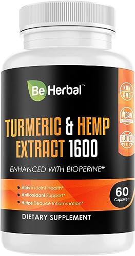 BE HERBAL Turmeric Curcumin