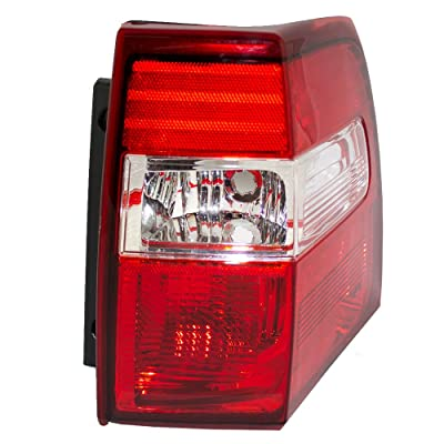 Taillight Tail Lamp Lens & Housing Unit Passenger Replacement for 07-17 Ford Expedition 7L1Z13404AA: Automotive