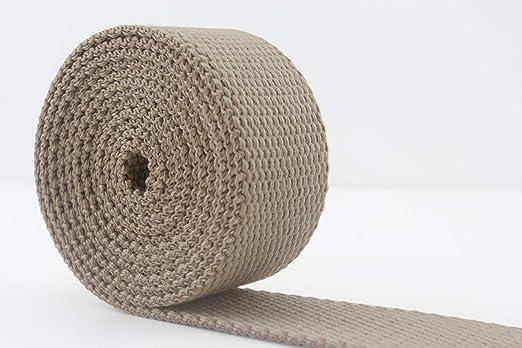 3DANCraftit - Correa de poliéster y algodón (38 mm), algodón, Dark ...