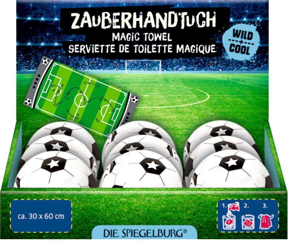 ca. 30 x 60 cm Zauberhandtuch Wild+Cool Fu/ßball