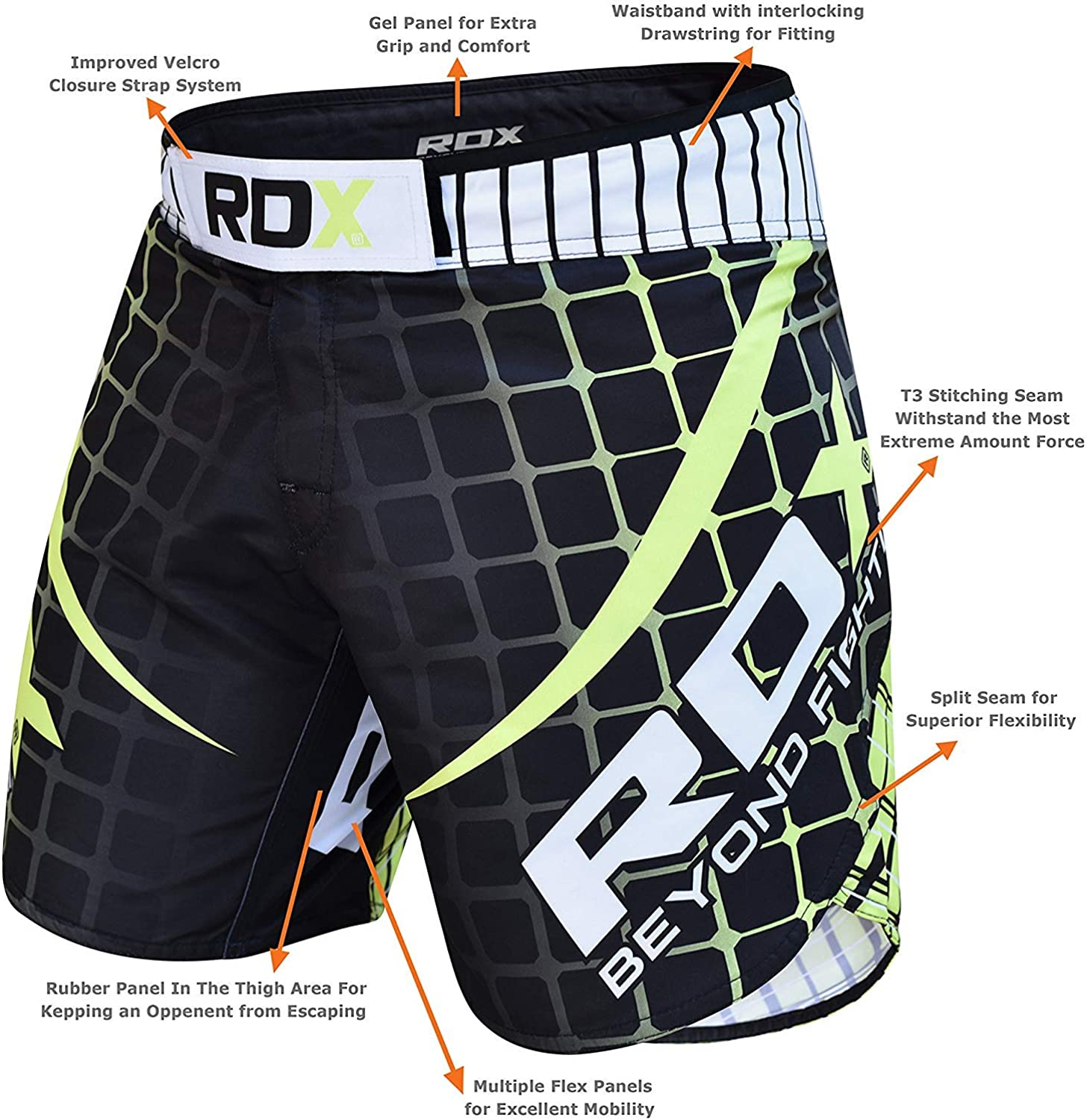 FORCE YELLOW /& GREEN MARTIAL ARTS KICKBOXING TROUSERS  BRAND NEW