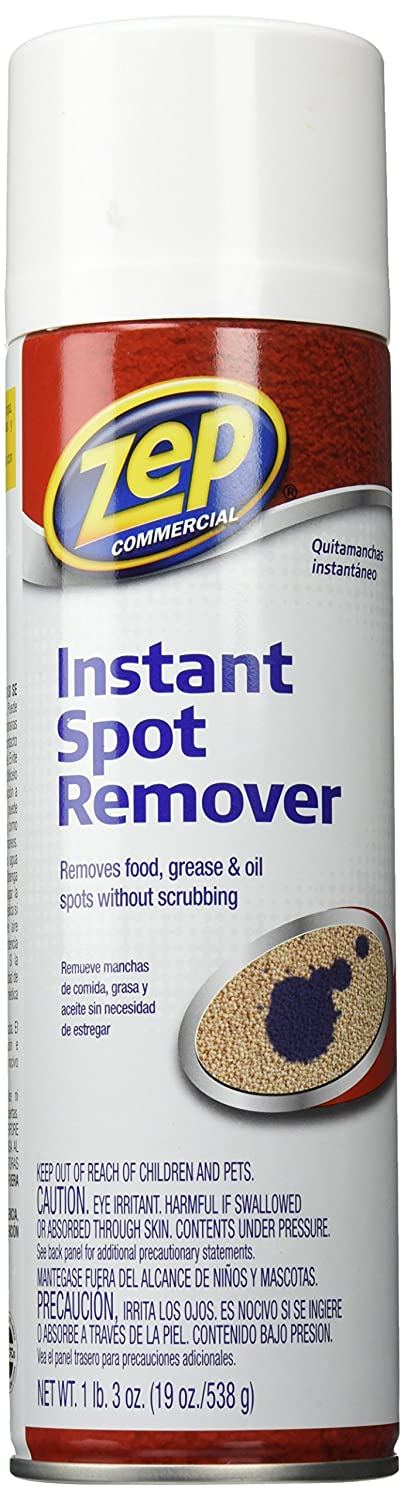 Amazon.com: Zep ZUSPOT19 Instant Spot and Stain Remover, 19 oz: Pet Supplies