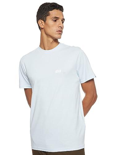 Camiseta Vans Retro Tall Type SS Heather Azul Hombre: Amazon.es ...