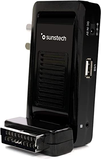 Comprar Sunstech DTBP700HD2BK, Mini Sintonizador, 1, Negro