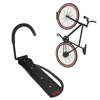 Bike Rack | Vertical Garage Wall Mount Storage For Hanging Bicycles | Heavy  Duty Hook |