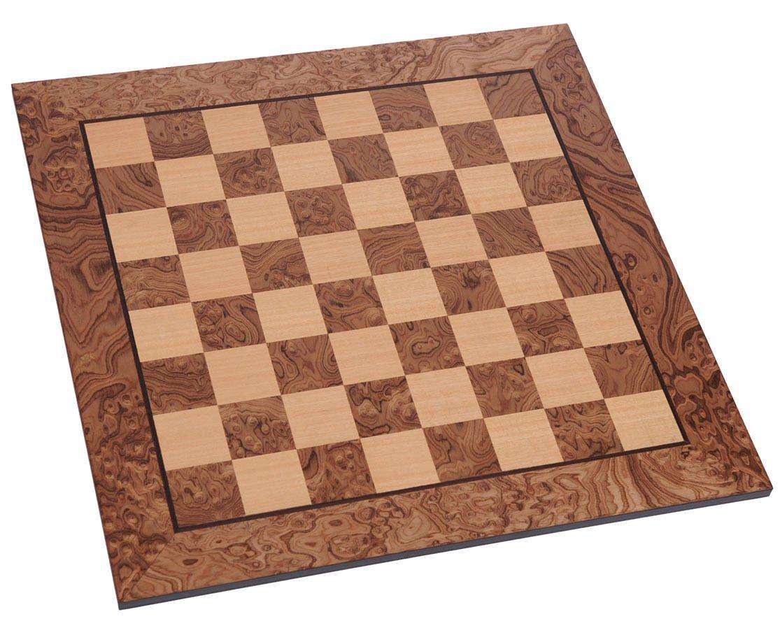 非売品 ManopoulosウォールナットBurlチェスボード2 B01N37OZOY