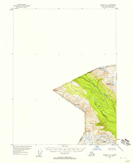 Amazon.com: Alaska Maps | 1948 Skagway, AK USGS Historical ...
