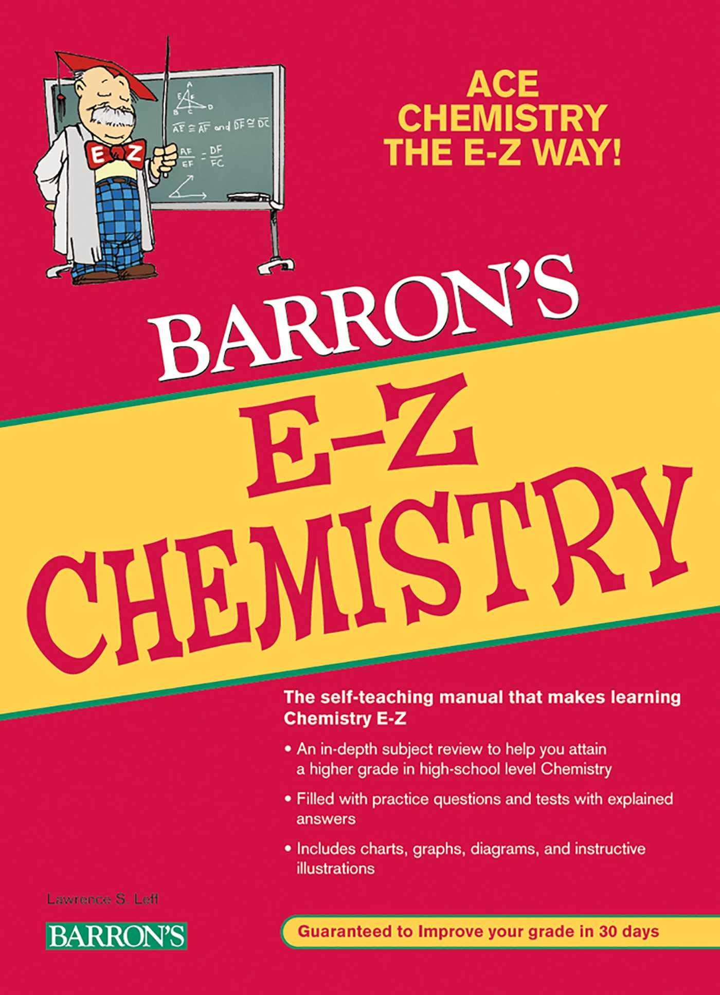 Download E-Z Chemistry (Barron's E-Z Series) ebook