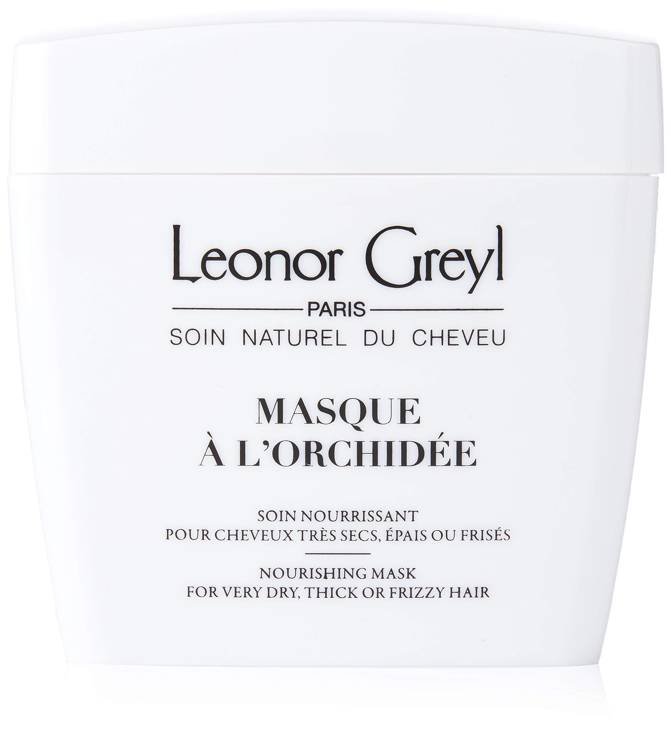 Leonor Greyl Paris Masque A L'Orchidee - Deep Conditioning Mask for Dry, Thick or Frizzy Hair, 7 oz.