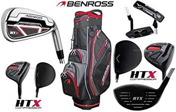 Benross HTX Compresor completo Golf Club Set palos con ...