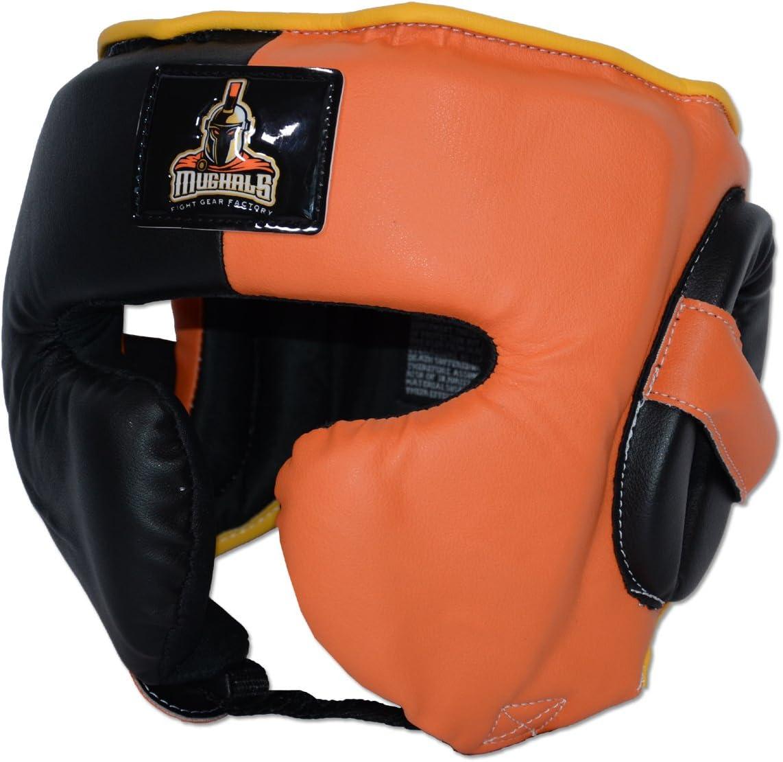 japanese-styleトレーニングHeadgear forボクシング、MMA、タイ式、kickboxing-合成レザー  Medium(19\
