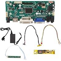 Walfront Enchufe de la UE 110-220V Placa de Controlador LCD Placa de Controlador de TV para reparación LTN154AT01…