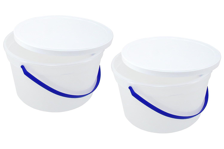 1 Gallon Ice Cream Tub with Lid (2)