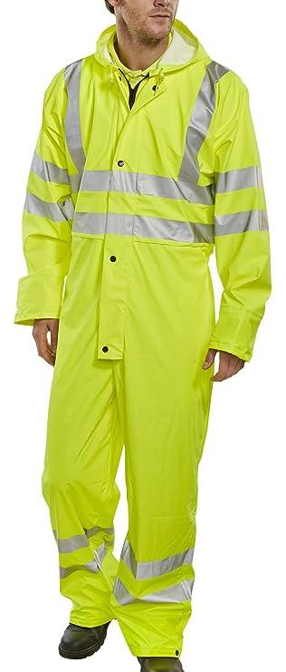 B-DRI Super Weatherproof Rain Jacket Yellow