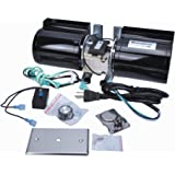 Durablow MFB 160B GFK-160 Fireplace Stove Blower Kit for Lennox, Superior, Heat N Glo, Hearth and Home, Quadra Fire, Regency,
