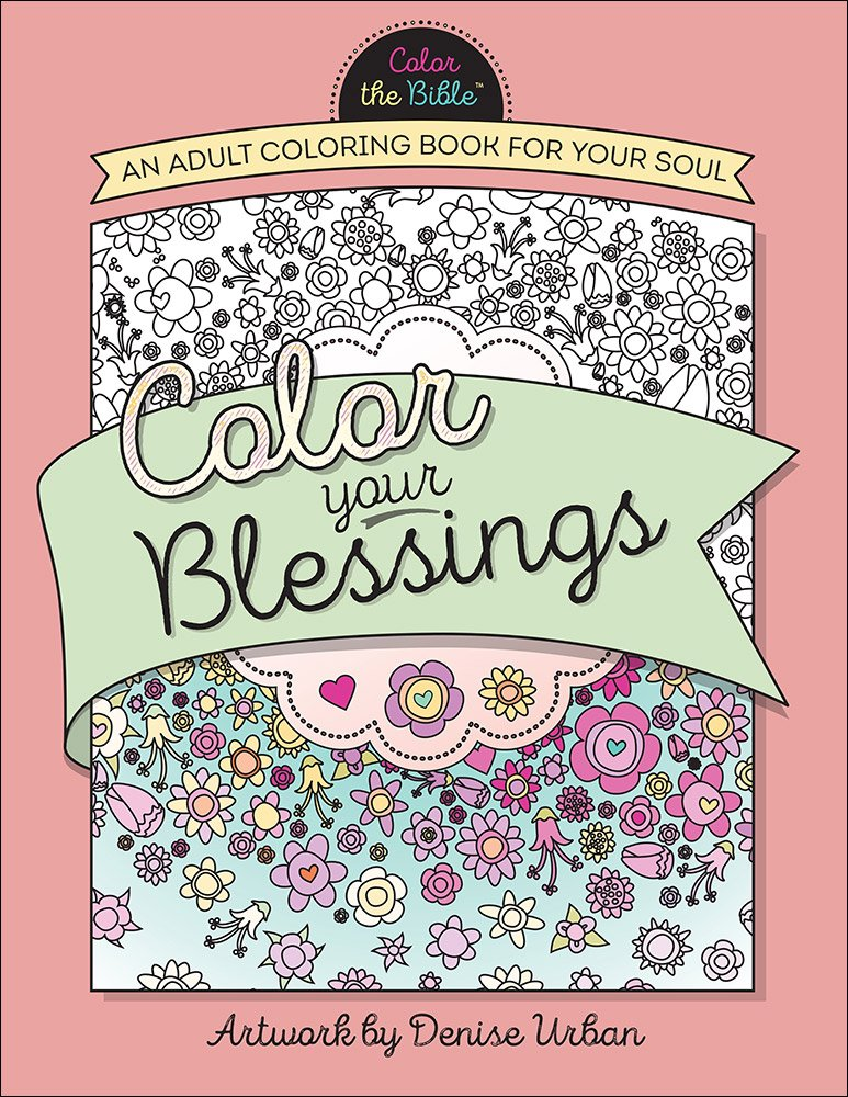Color Your Blessings Adult Coloring product image