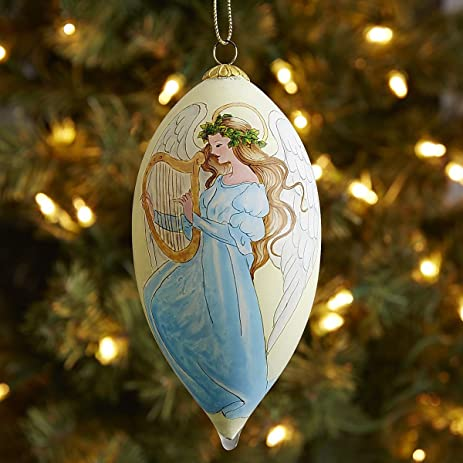 pier 1 li bien angel cone ornament