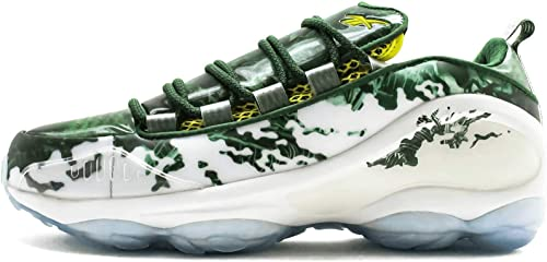 Reebok DMX Run 10 X The Predator Mens in WhiteGreenScarletYellow